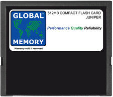 512MB COMPACT FLASH CARD MEMORY FOR JUNIPER J2300 / J4300 / J6300 (JX-CF-512M-S)
