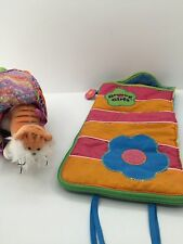 GROOVY GIRLS CAT PET CARRIER AND SLEEPING BAG