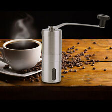 Practical Coffee Bean Grinder Stainless Steel Hand Manual Handmade Grinder#S