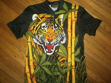 TIGER CYCLING JERSEY SHIRT Schnaubelt Aero Tech Jungle Safari Train Adult Small