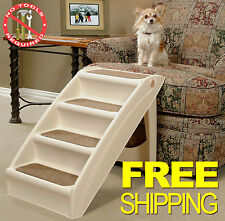 Pet Stairs Dog Steps Cat Ramp Doggy Step Portable Folding Ladder Animal Safe New