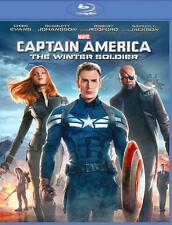 Captain America: The Winter Soldier (1-Disc Blu-ray) DVD, Jenny Agutter, Toby Jo