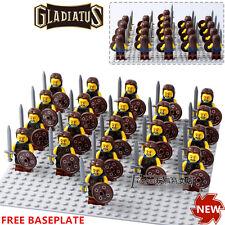21pcs Series 6 Gladiatus Scottish warrior Braveheart Rob Minifigures Toys Gifts