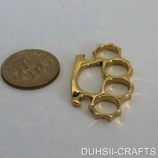 SMALL CUTE KNUCKLE DUSTER CHARM PENDANT MADE FROM BRASS EXCELLENT FINISH NEW