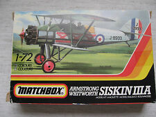 MATCHBOX pk-25 Armstrong Withworth Siskin IIIa 1:72 spedizione combinata possibile