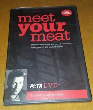 MEET YOUR MEAT PETA DVD NARRATED BY ALEC BALDWIN
