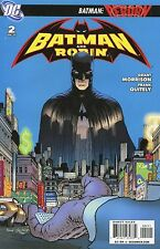 2008 BATMAN REBORN / BATMAN AND ROBIN #2  DC COMICS  VG-FINE