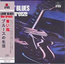 LIVIN' BLUES BLUE BREEZE MINI LP CD OBI