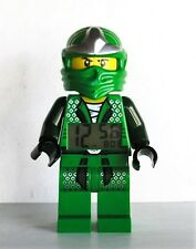 Rare 2012 Lego Green Lloyd Ninjago Figure Alarm Clock Works Great 8 Inch