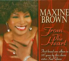 Maxine Brown - From the Heart FIRST BRAND NEW ALBUM IN 35 YEARS BY THIS CLASSIC
