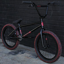 SALE!2016 FIT BIKE CO CONWAY 2 MATTE BLACK/RED BMX BICYCLE w/FREECOASTER SUNDAY