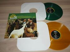 THE BEACH BOYS VERDE & YELLOW VINILO 2 LP PET SOUNDS/US 40th ANNIVERSARY MINT