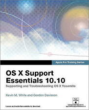 Apple Pro Training Series OS X Support Essentials 10 10 Supporting ...  BOOK NEW