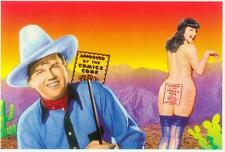 Betty Page 'Approved by the Comic Code' Postcard: (USA, 1991)
