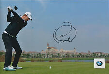 Bernd WIESBERGER SIGNED Photo AFTAL Autograph COA BMW Masters Shanghai CHINA