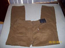 Levi's 514 Men's Slim Straight Brown Jeans Size 34 x 30 PLZ SEE Measurements EUC