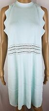 Ted Baker size 4 Natleah Womens US size 8 10 Mint Green Scallop Cut Out Dress