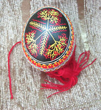 With love from Ukraine Blown Pysanka, Easter Egg. BEST Quality Pysanky NEW
