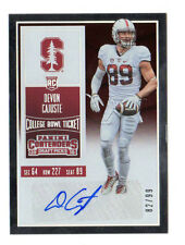 DEVON cajuste NFL 2016 PANINI Contenders Draft Picks Ciotola BIGLIETTO (49ers, Packers)
