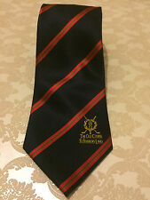 THE OLD COURSE ST ANDREWS LINKS GOLF SILK TIE - BLUE RED DESIGN - FREE UK P&P