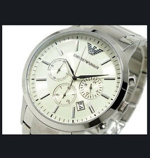 Emporio Armani AR2458 Stainless Steel  Width43m x Length 43m  WITH-boxes
