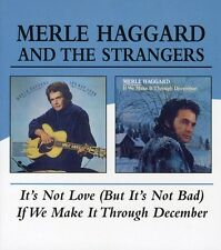 It's Not Love (But It's Not Bad)/If We Make - Merle Haggard (2004, CD NIEUW)