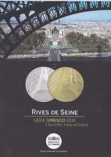 Flyer de la monnaie de Paris - Rives de Seine - Série UNESCO 2014