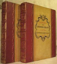 Florilège des Conteurs galants du XVIIIe siècle 2 volumes illustrations BEL ÉTAT