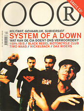MAGAZINE OOR 2002 nr. 05  - SYSTEM OF A DOWN/THE EX/TIMO MAAS/ISIS + OORGASM CD