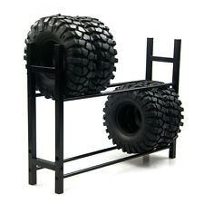 Tire Rack Reifenregal für 1/10 RC car Wheel Tire RC4WD SCX10 D90 CC01 Schwarz