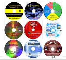 Computer Repair, Data Recovery, Password, Patition, Drivers Virus Recover 9 disk