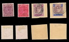 CAPE OF GOOD HOPE • Queen Victoria (2) & King Edward VII (2) high value fiscals