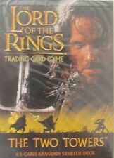 Lord of the rings / The Two Towers / Aragorn Starter Deck/Trading Card Game/OVP