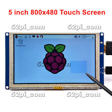 5 Inch 840*480 HDMI Resistive Touch Screen LCD Display for Raspberry Pi 2/3/B+