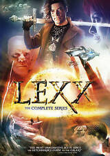 PB SCIENCE FICTION-LEXX-COMPLETE SERIES (DVD) (2PACK)  DVD NEW