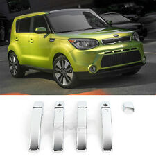 Chrome Door Catch Handle Molding Cover Garnish for KIA 2014-2017 All New Soul
