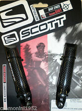 SCOTT appendici manubrio bici mtb mountain bike carbonio carbon bars ends