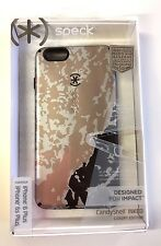 NEW Speck CandyShell Inked Luxury iPhone 6/6S PLUS Golden Glacier/Black
