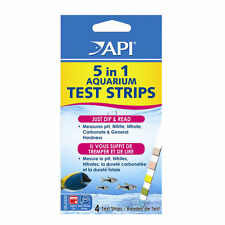 API 5 in 1 Test Strips Kit Aquarium PH Nitrate Nitrite GH KH 4 pcs