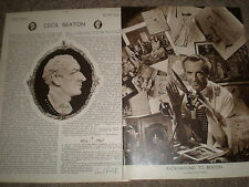 Photo article Cecil Beaton 1949 ref K