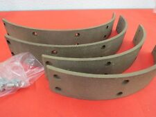 NEW 1939-48 Ford brake lining set molded with rivets 91A-2007-M