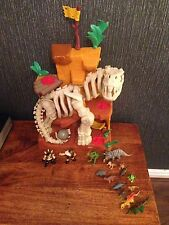 Fisher Price Imaginext Dinosaurs T-Rex Mountain (rare) Plus Extra Dinosaurs