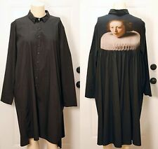 """NEW FANTASTIC RUNDHOLZ """"OLD MASTERS"""" BUTTONS DOWN DRESS SIZE XL - ONLY 1 LEFT!!!"""