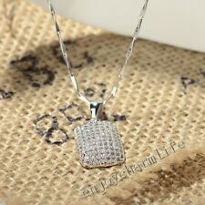 Fashion Jewelry Micro Pave Set AAA Crystal CZ 925 Sterling Silver Charm Pendant