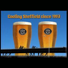 Tinsley Torri Saluti CARD Raffreddamento SHEFFIELD dal 1990 pinte di birra