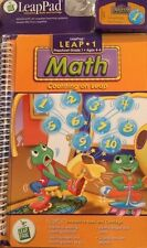 LeapFrog LeapPad 1 Preschool 1st Age 4+ Math: Counting on Leap, Learning NEW