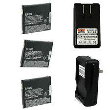 3x Brand New BP6X Battery For Motorola Droid A855 Droid 2 A955 CLIQ MB200 I1
