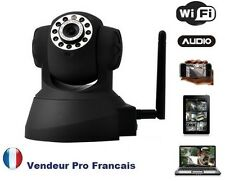 Caméra IP Réseau WIFI Infrarouge Mobile Iphone Ipad Android Mac Smartphone