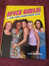 """Spice Girls Collector Book """"And Then There Were Four"""" by M. Ellen Milner"""