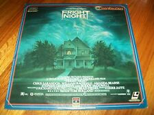 FRIGHT NIGHT Laserdisc LD VERY GOOD CONDITION VERY RARE AND VERY SCARY!